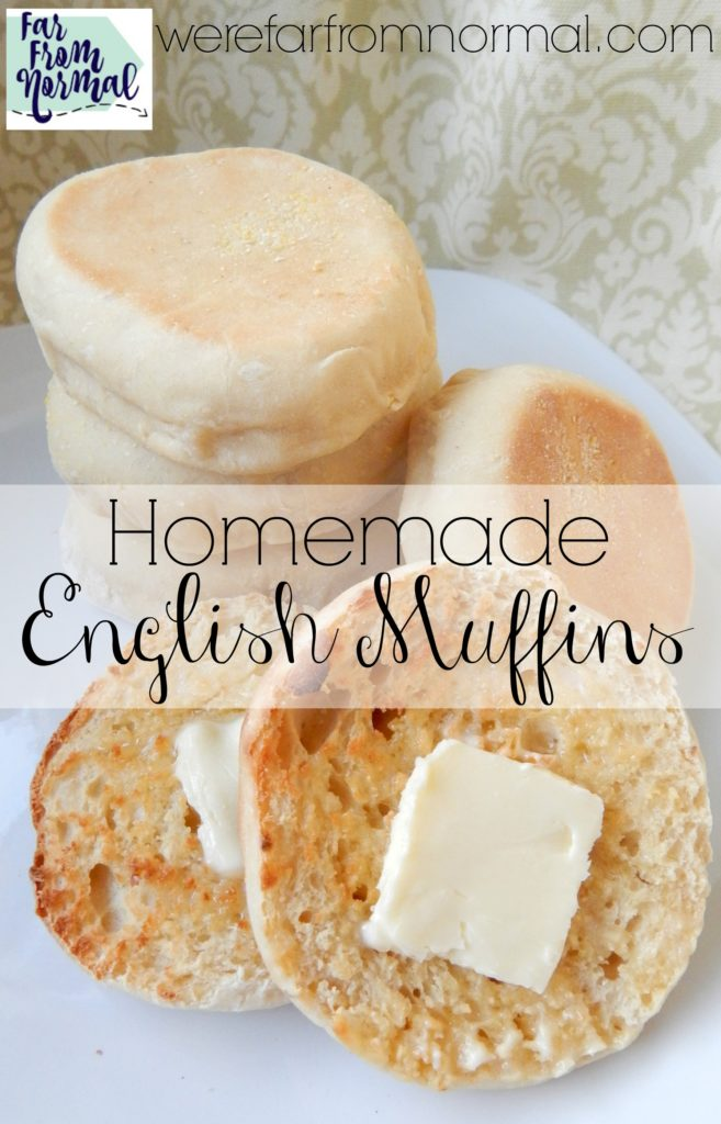 Homemade English Muffins are well worth the effort! They are so much better than store bought and easier than you'd think!