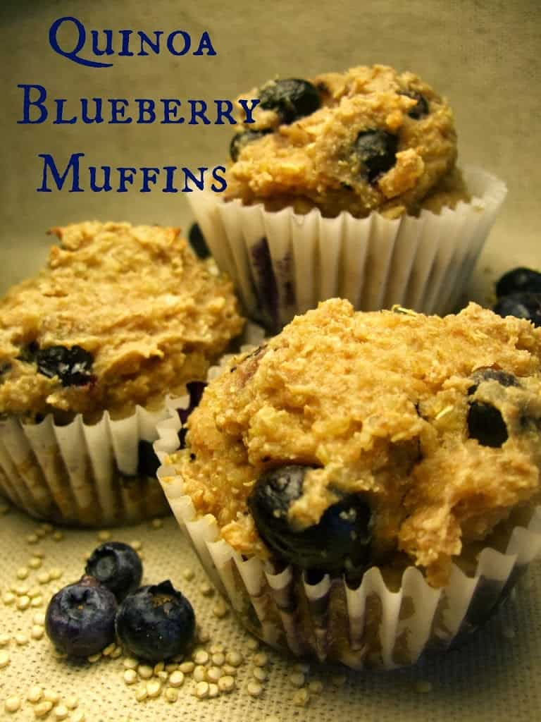 Quinoa-Blueberry-Muffins