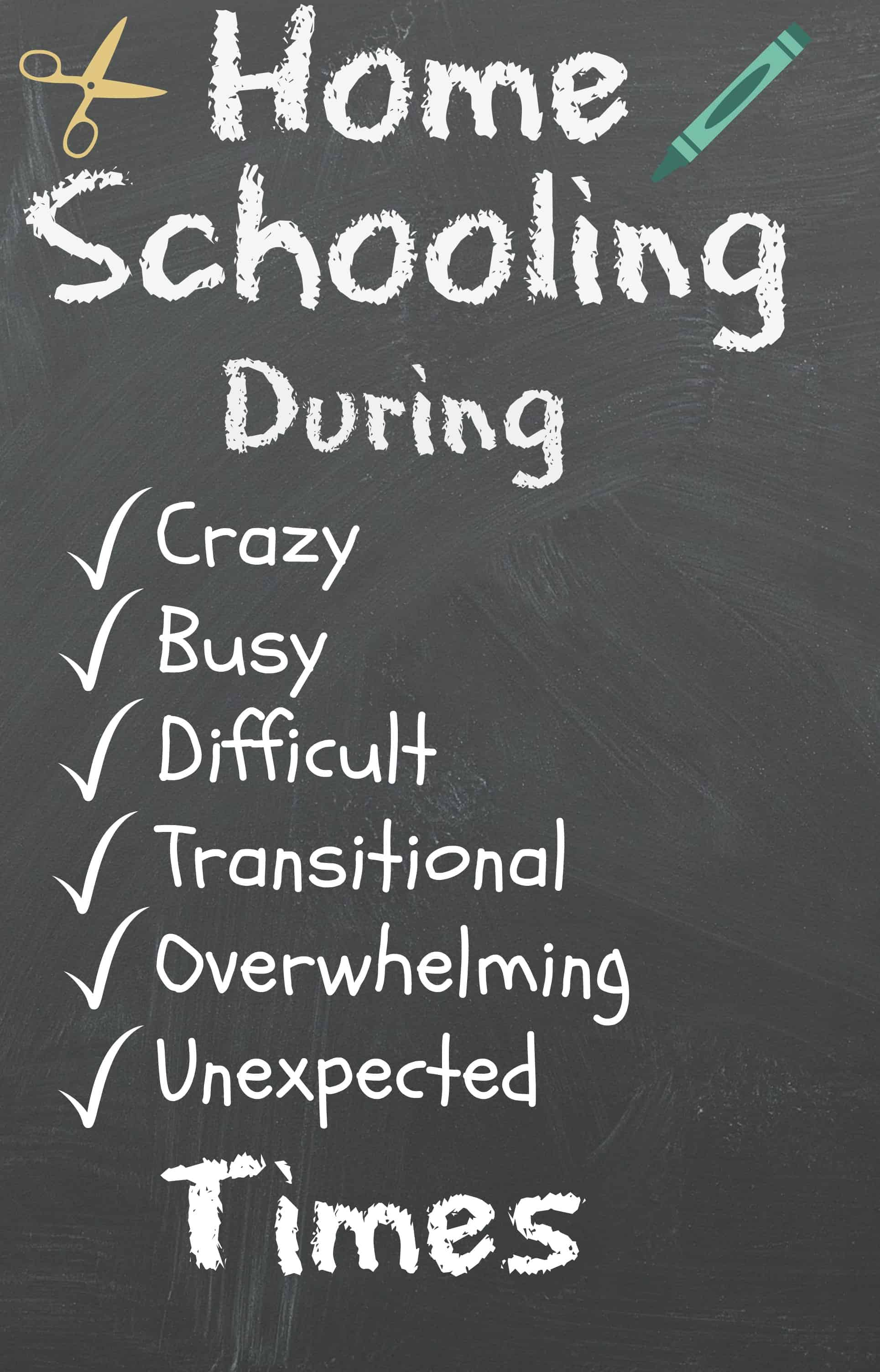 Homeschooling During Busy Times