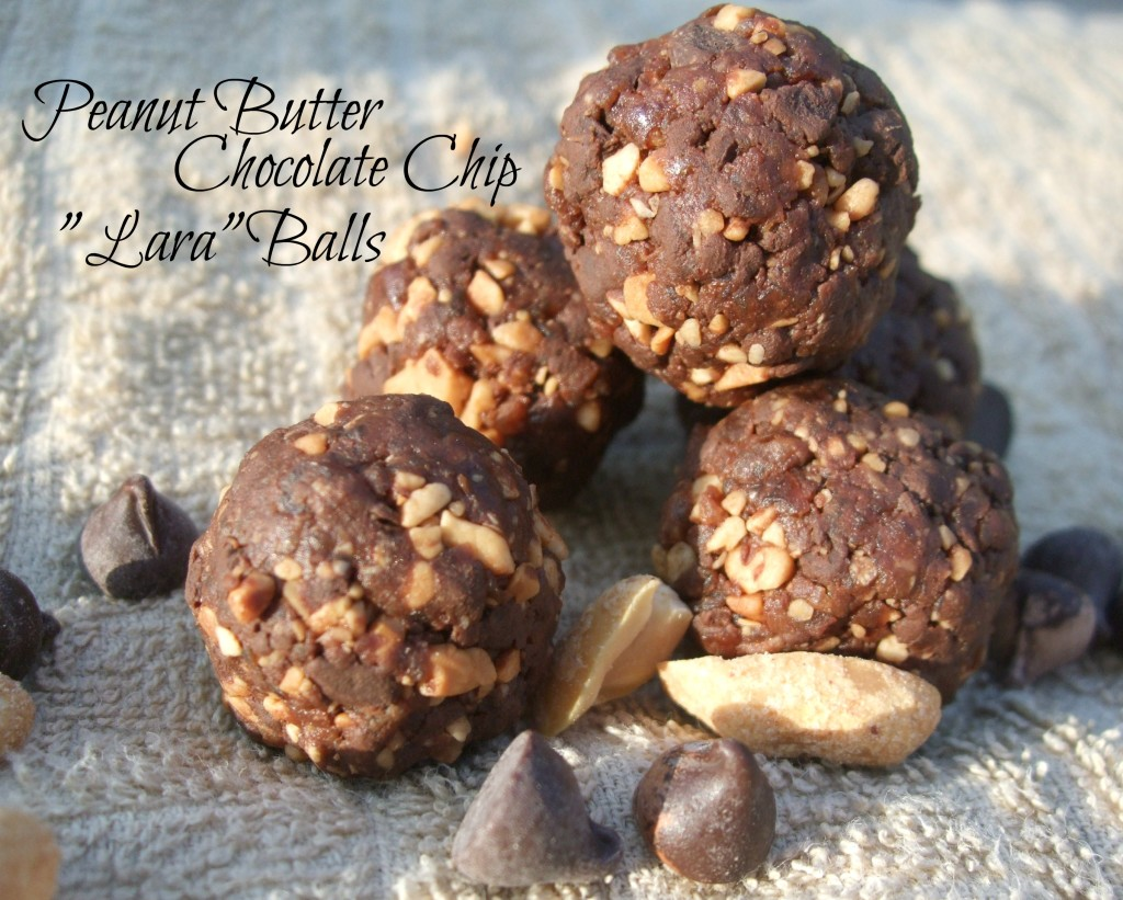 PB Chocolate Chip Lara Balls