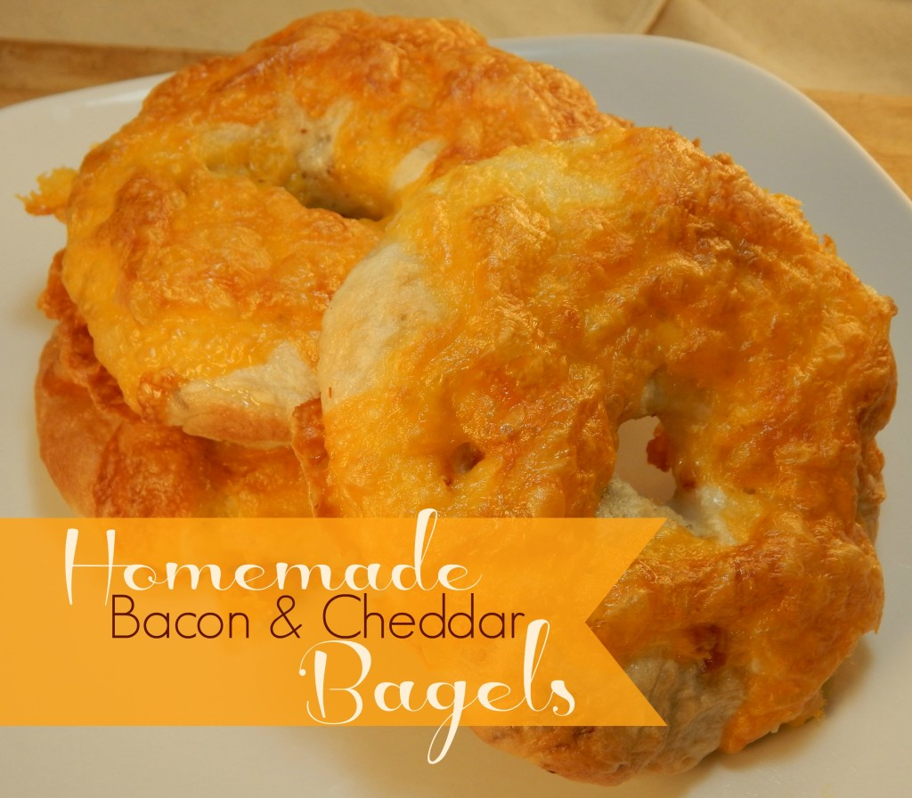 Bacon Cheddar Bagles