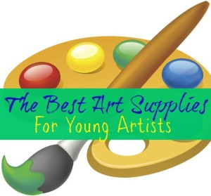 art supplies for young artists