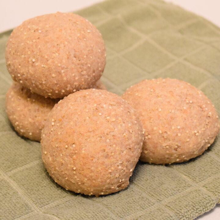 Easy & Delicious Quinoa Rolls