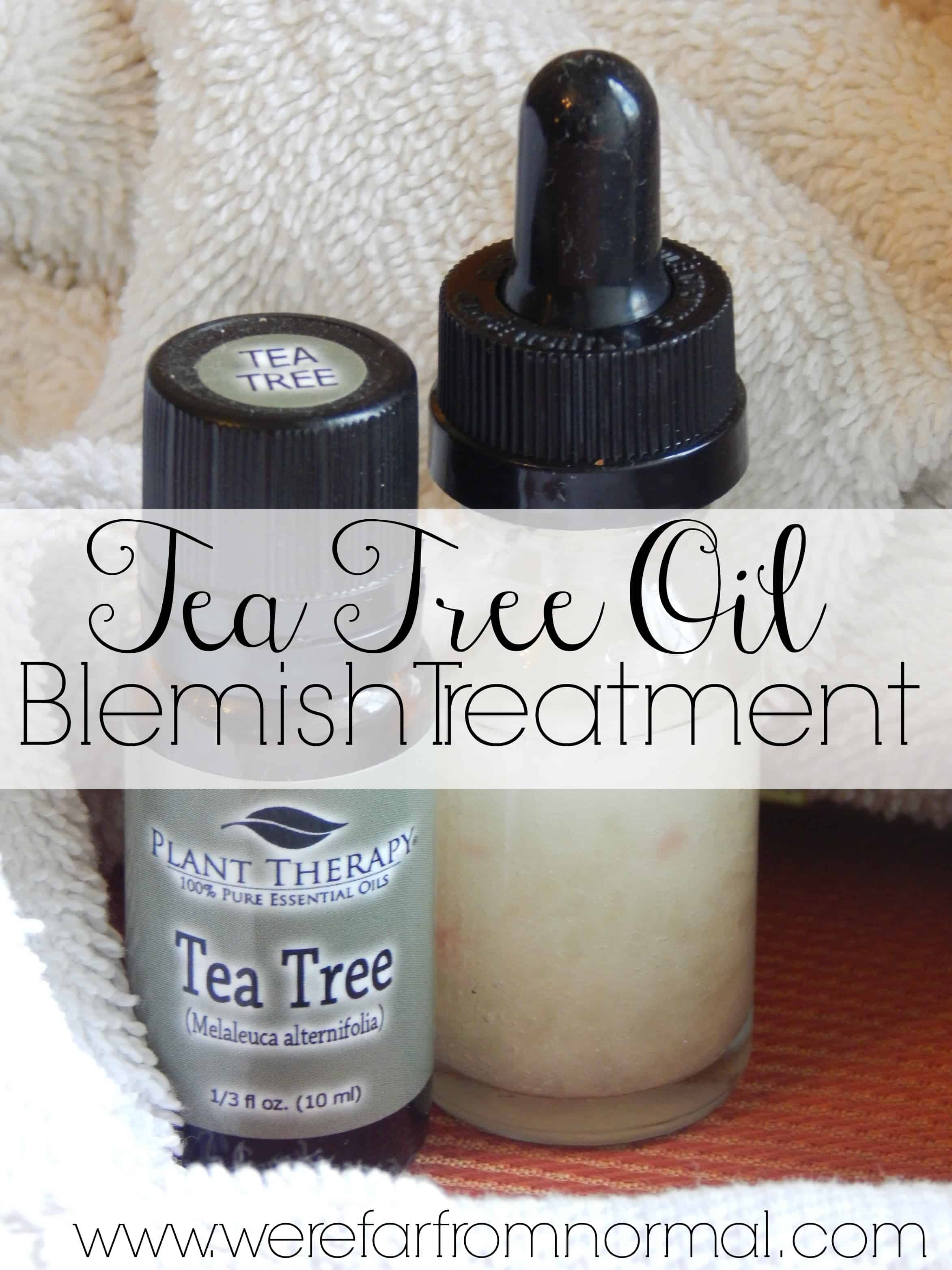 Tea Tree Oil Blemish Treatment