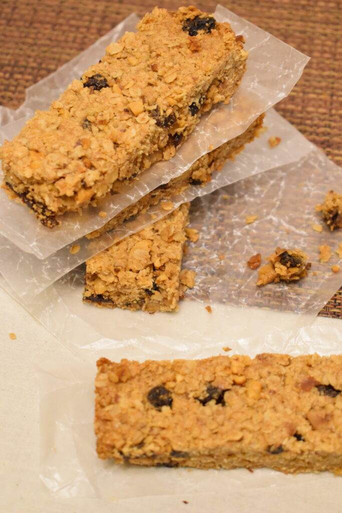 oatmeal raisin breakfast bars