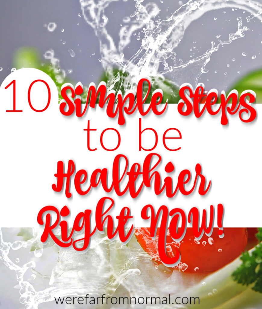 steps to be healthier