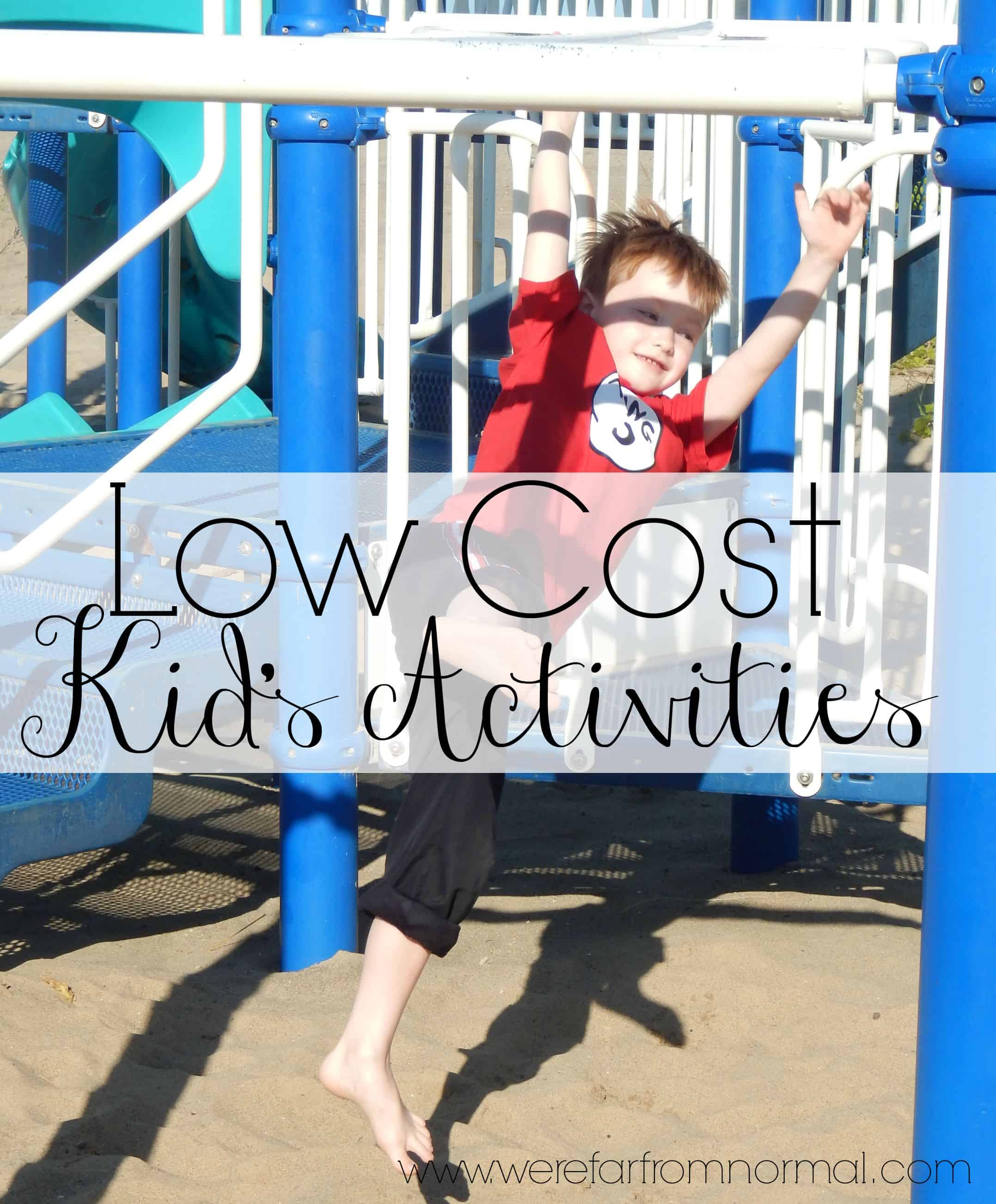 5 Low Cost Activities For Kids – Guest Post
