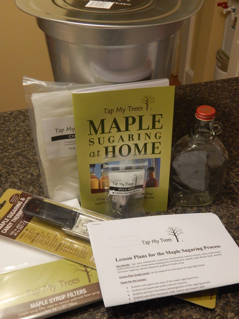 Maple syrup kit, make your own maple syrup, syrup making at home