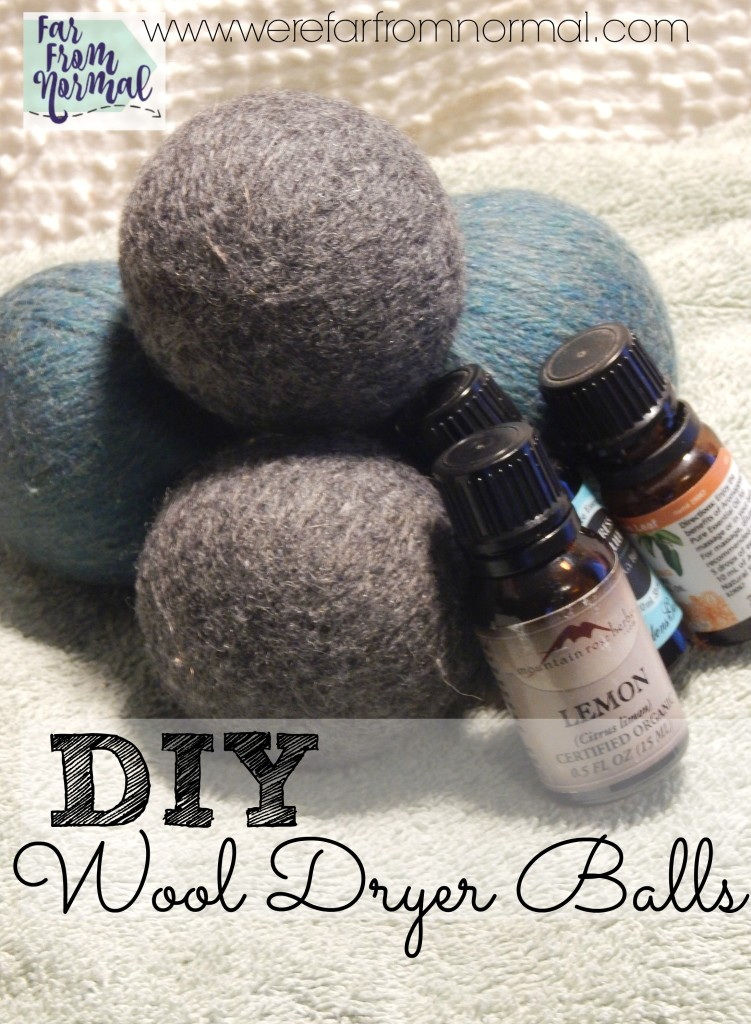 Looking for a way to save money on laundry Ditch your dryer sheets for dryer balls! These are so easy to make, shorten dry time and reduce static! You can even add essential oils for scent!