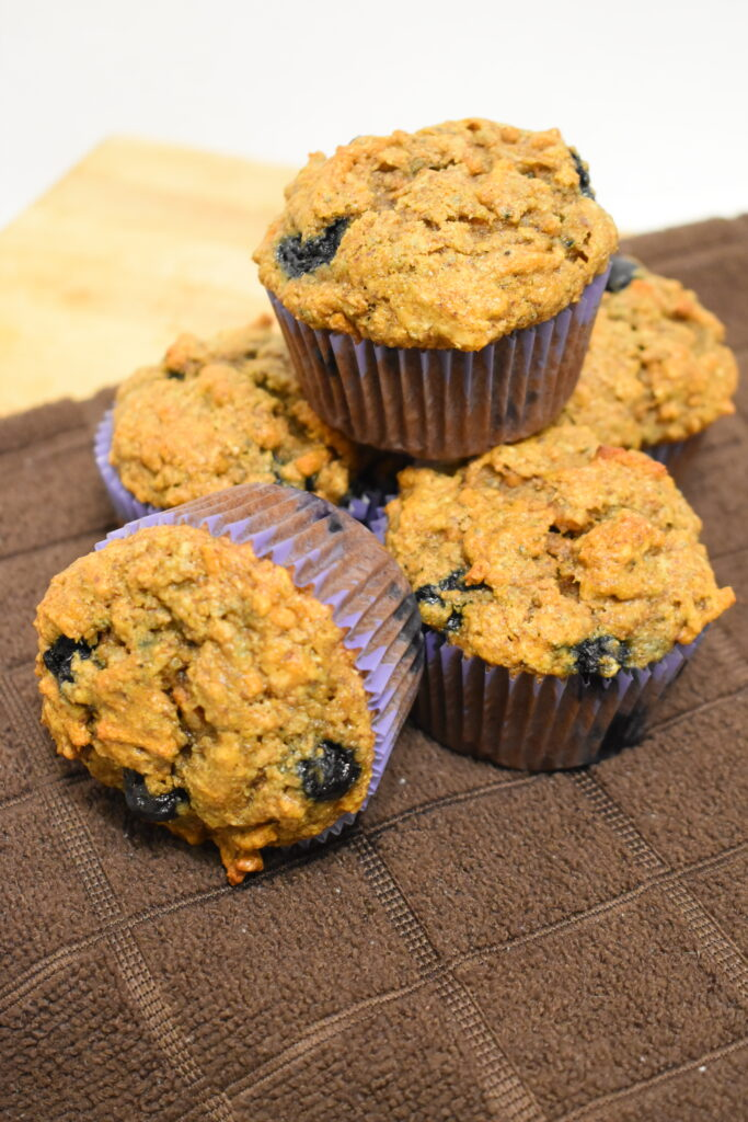 High fiber muffins
