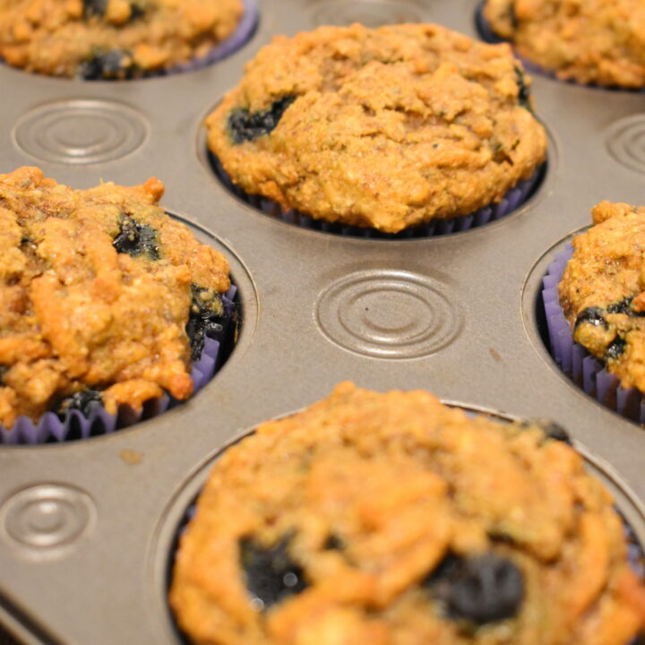 High Fiber Muffins (Packed with Superfoods!)