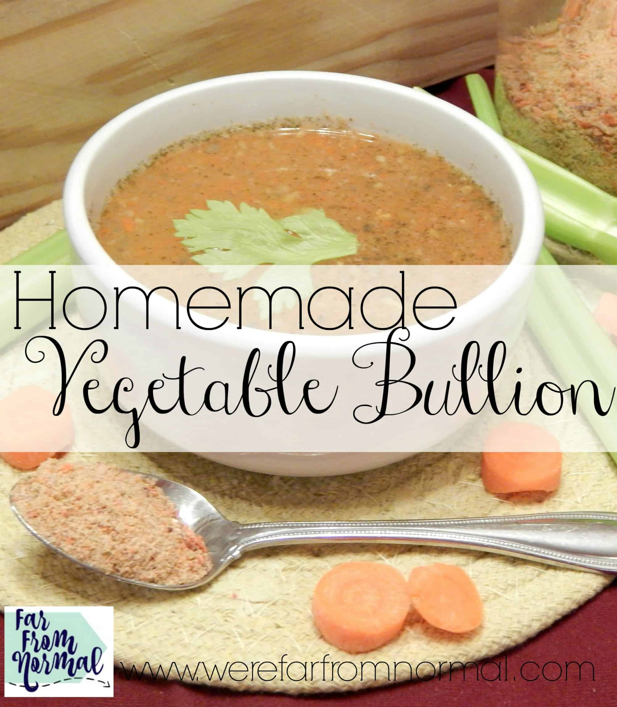 Homemade Vegetable Bullion