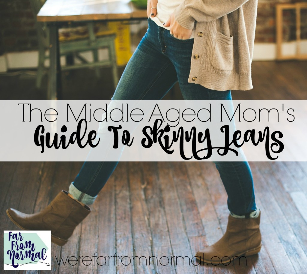 If you're a mom you know how challenging fitting into a pair of skinny jeans can be! This is so funny & sums it all up!
