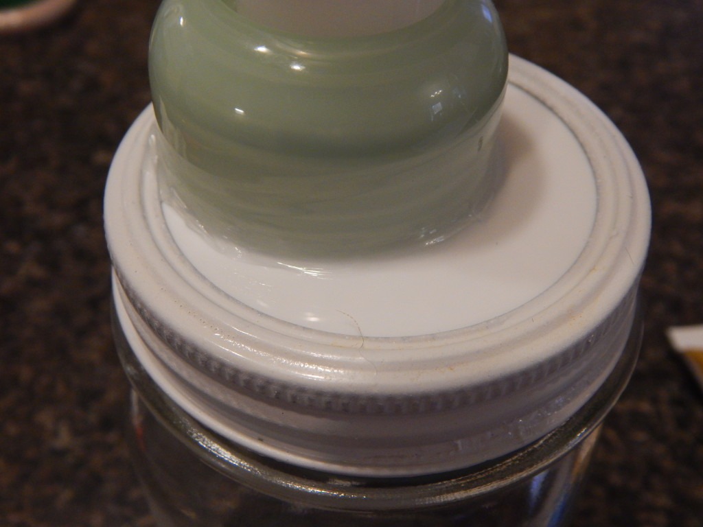 how to make a foaming soap dispenser from a mason jar