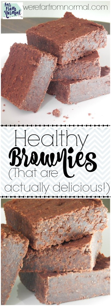 Where has this recipe been all my life? These brownies are so good you'll never belive they are healthy! Completely free of refined sugar and full of protein, they're actually good for you!