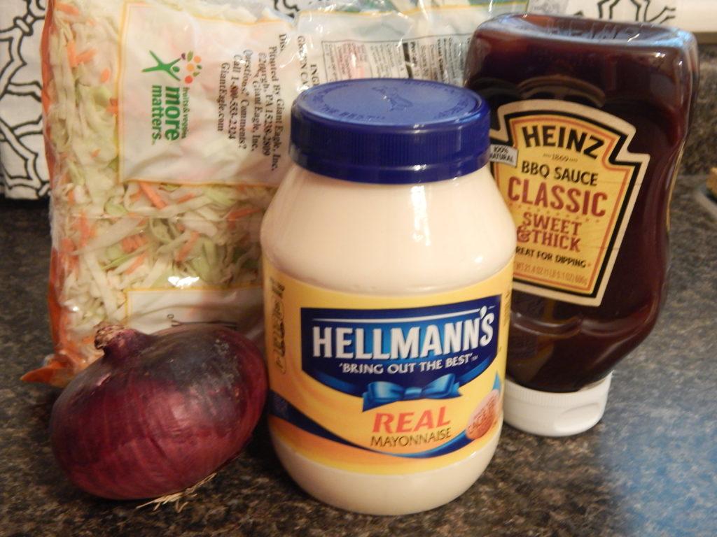 creamy barbecue coleslaw