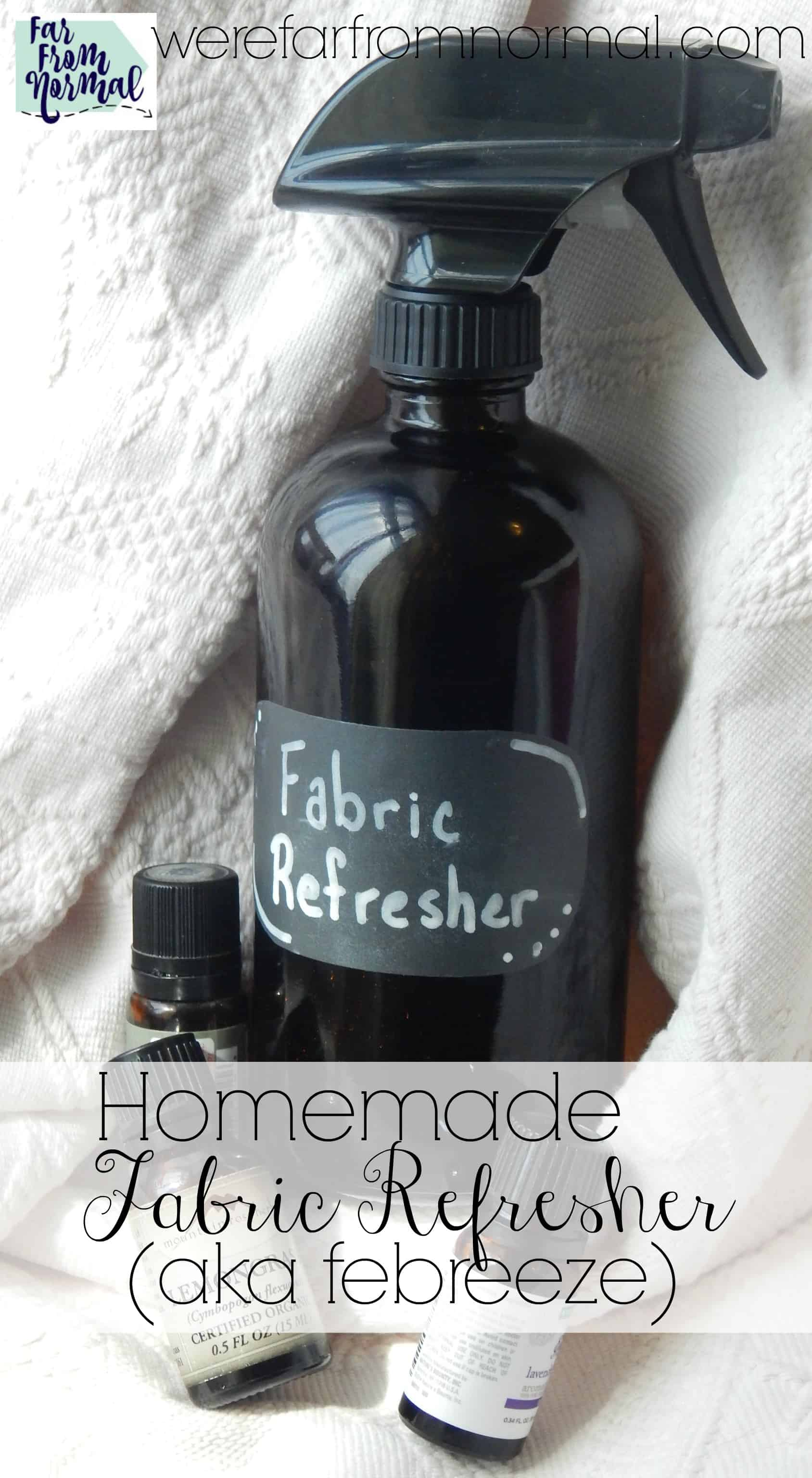 DIY All Natural Homemade Febreze | Far