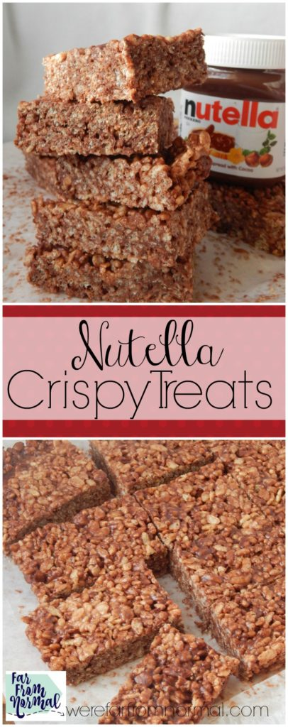 OMG I can eat a whole pan of these!! Crunchy, chewy, Nutella...AMAZING!!