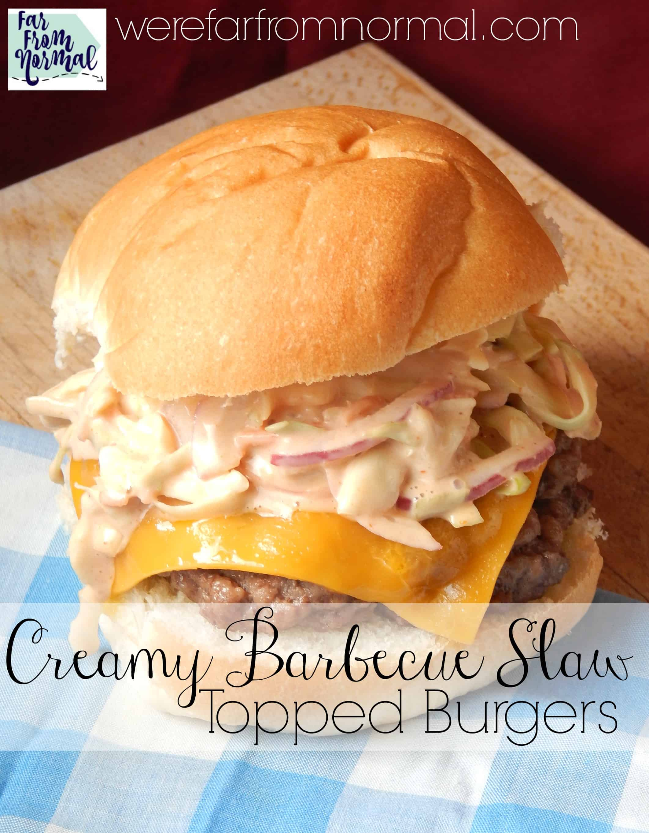 Creamy Barbecue Coleslaw