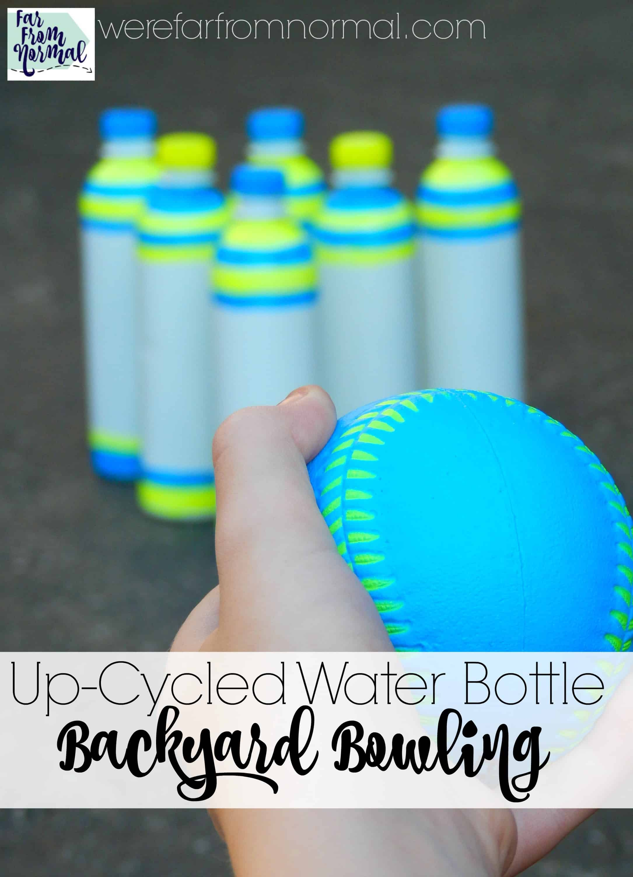 Up-Cycled Water Bottle Backyard Bowling