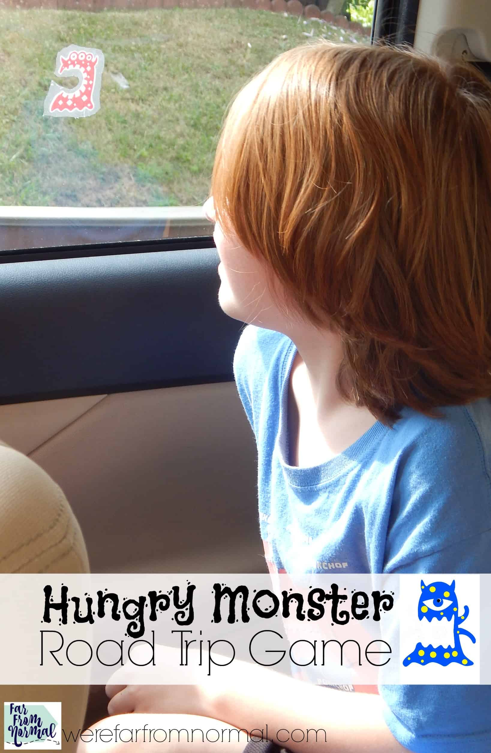 Hungry Monster Road Trip Game (w/ free printables!)
