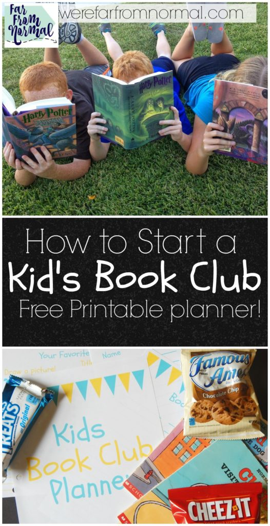 A book club is a great way to encourage your kids to read! This is a great guide for setting one up and includes a printable planner complete with discussion questions and worksheets!