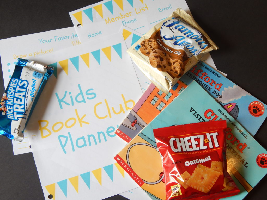 start a kid's book club