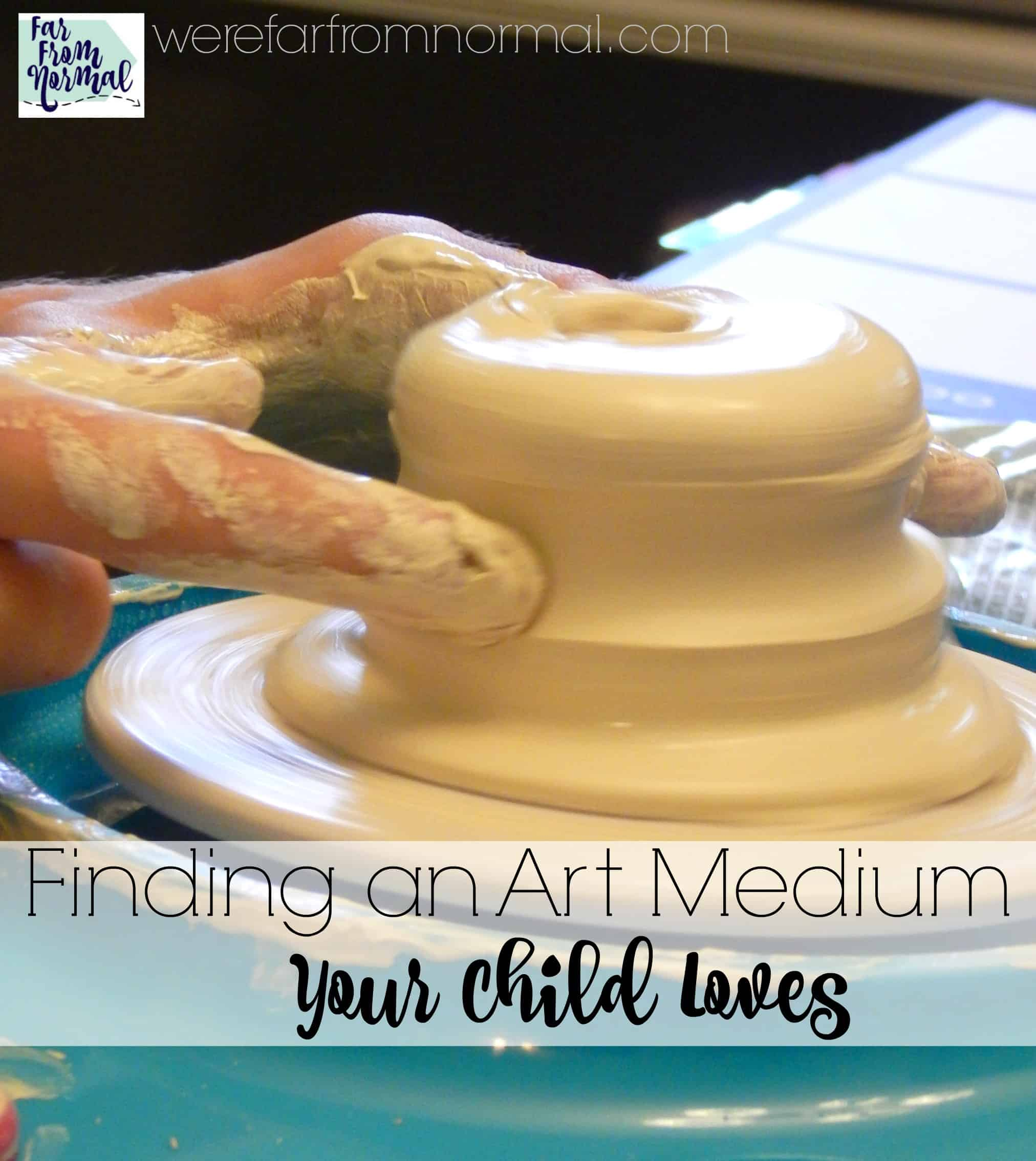 Finding an Art Medium Your Child Loves