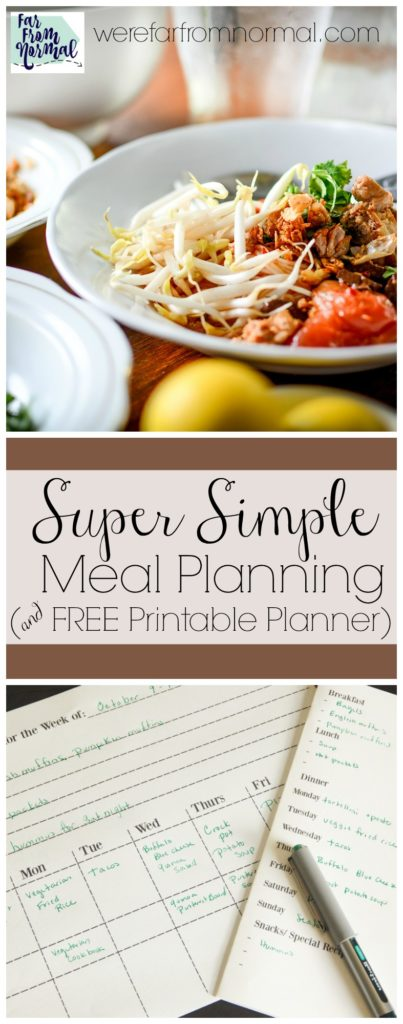 free-meal-planner