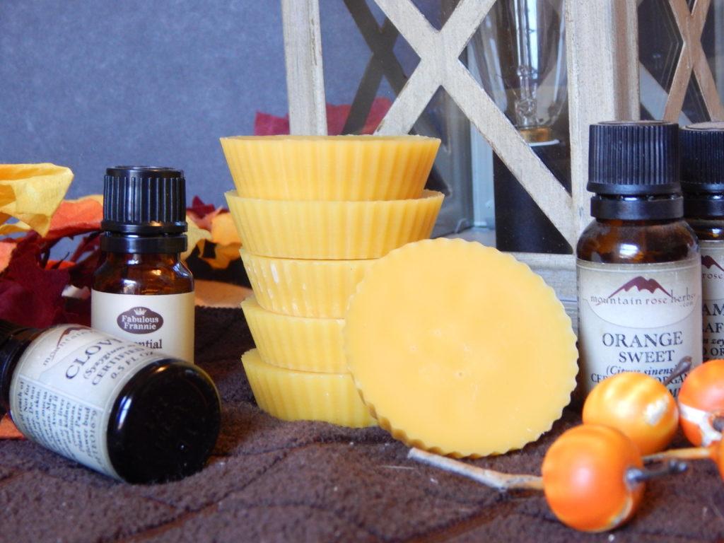 all natural fall scented wax tarts