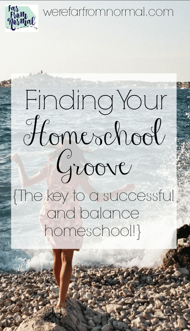 Finding Your Homeschool Groove