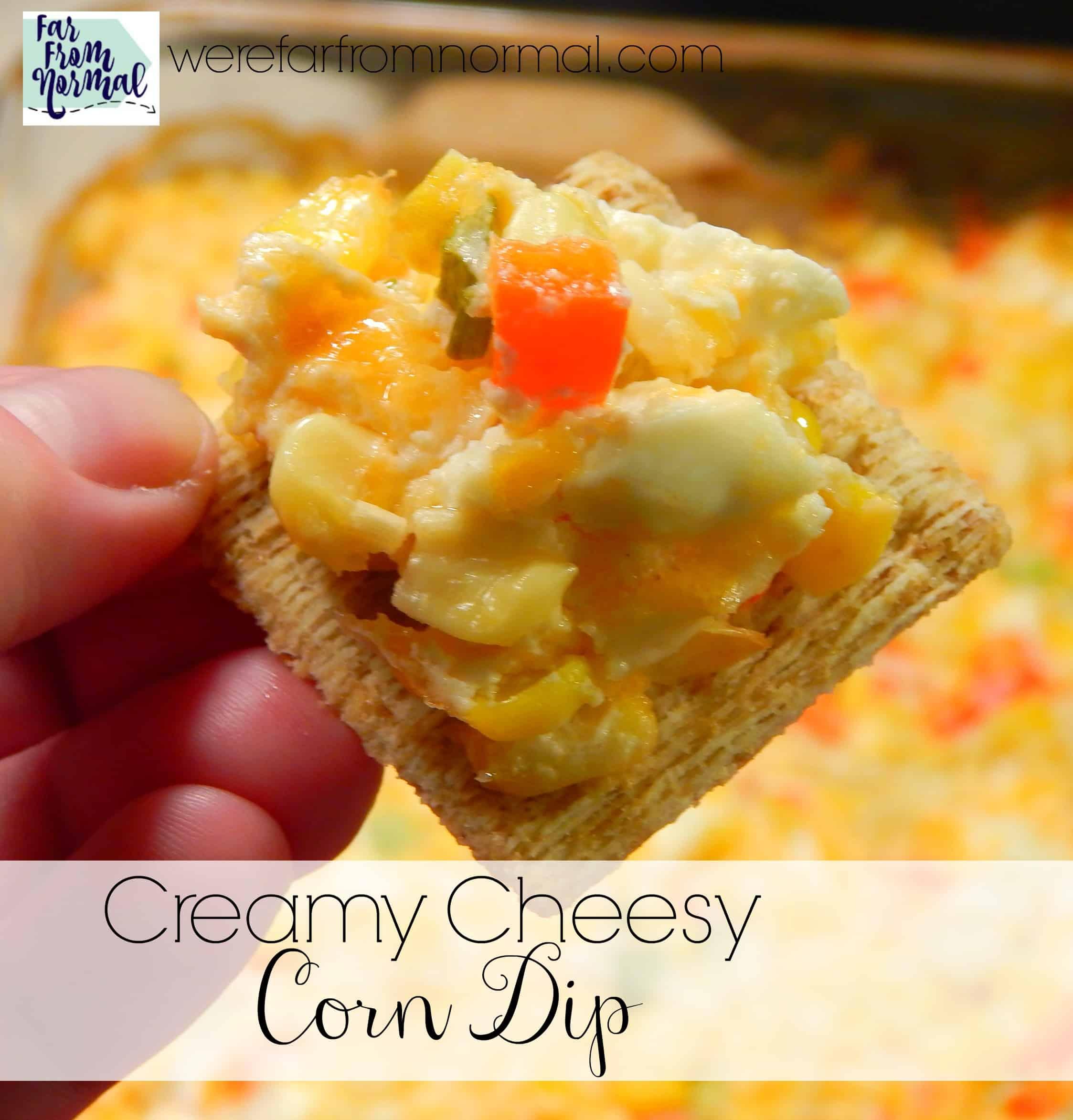 Delicious Creamy Cheesy Corn Dip