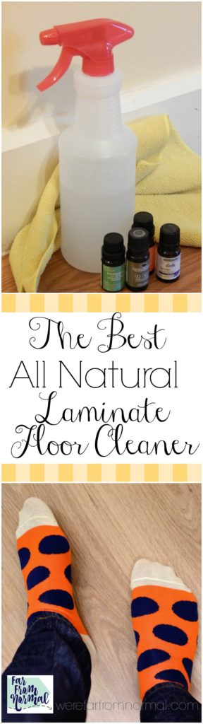The Best DIY All Natural Laminate Floor Cleaner | Far From