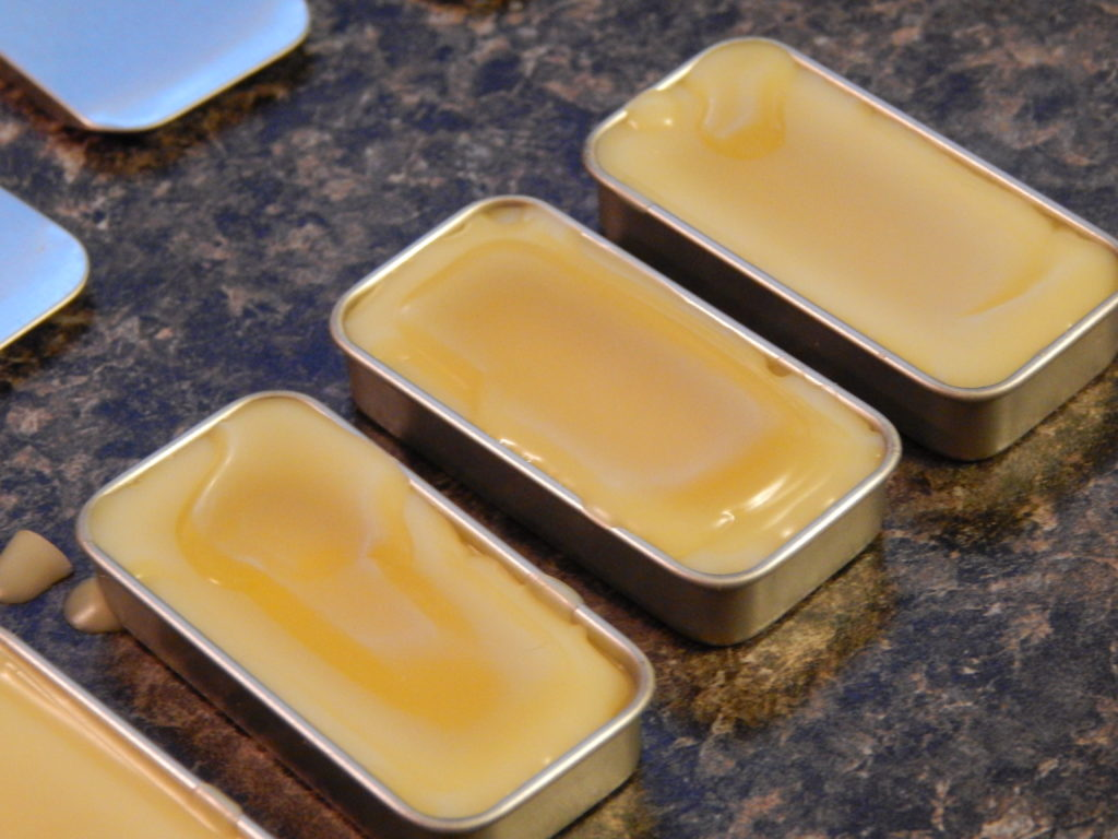 diy honey orange vanilla lip balm