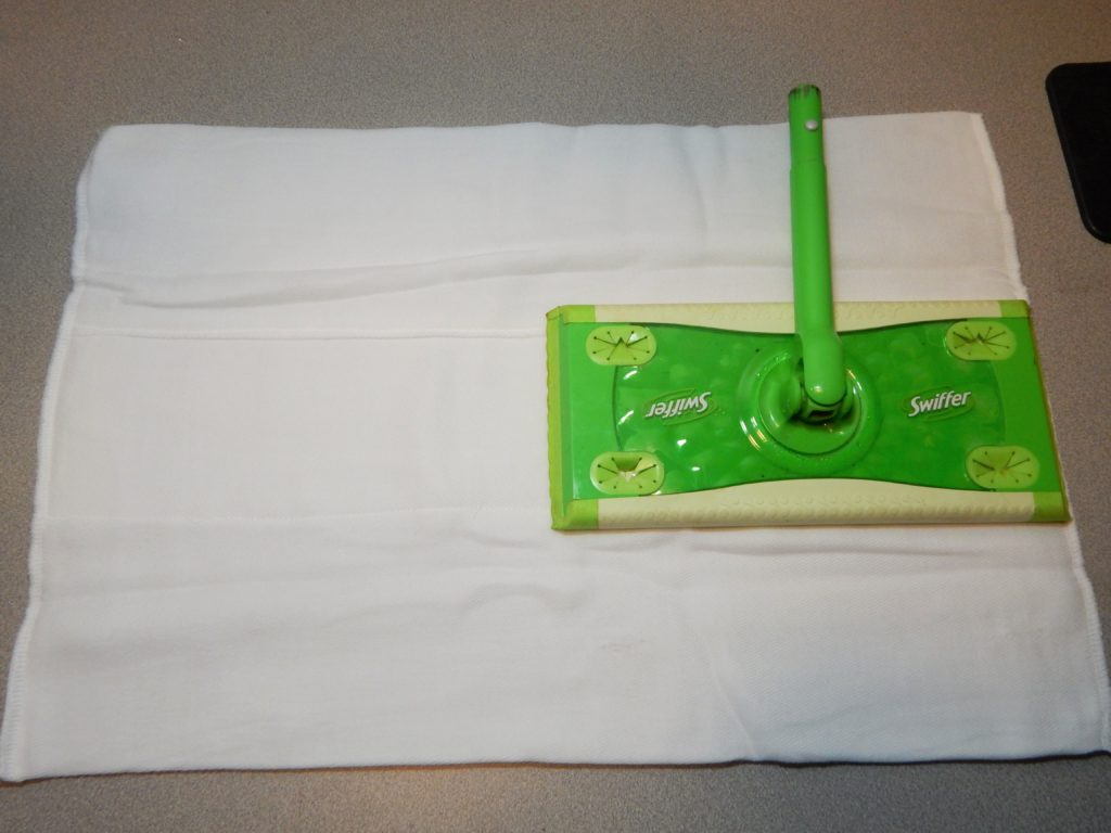 homemade swiffer cloths using cloth diapers