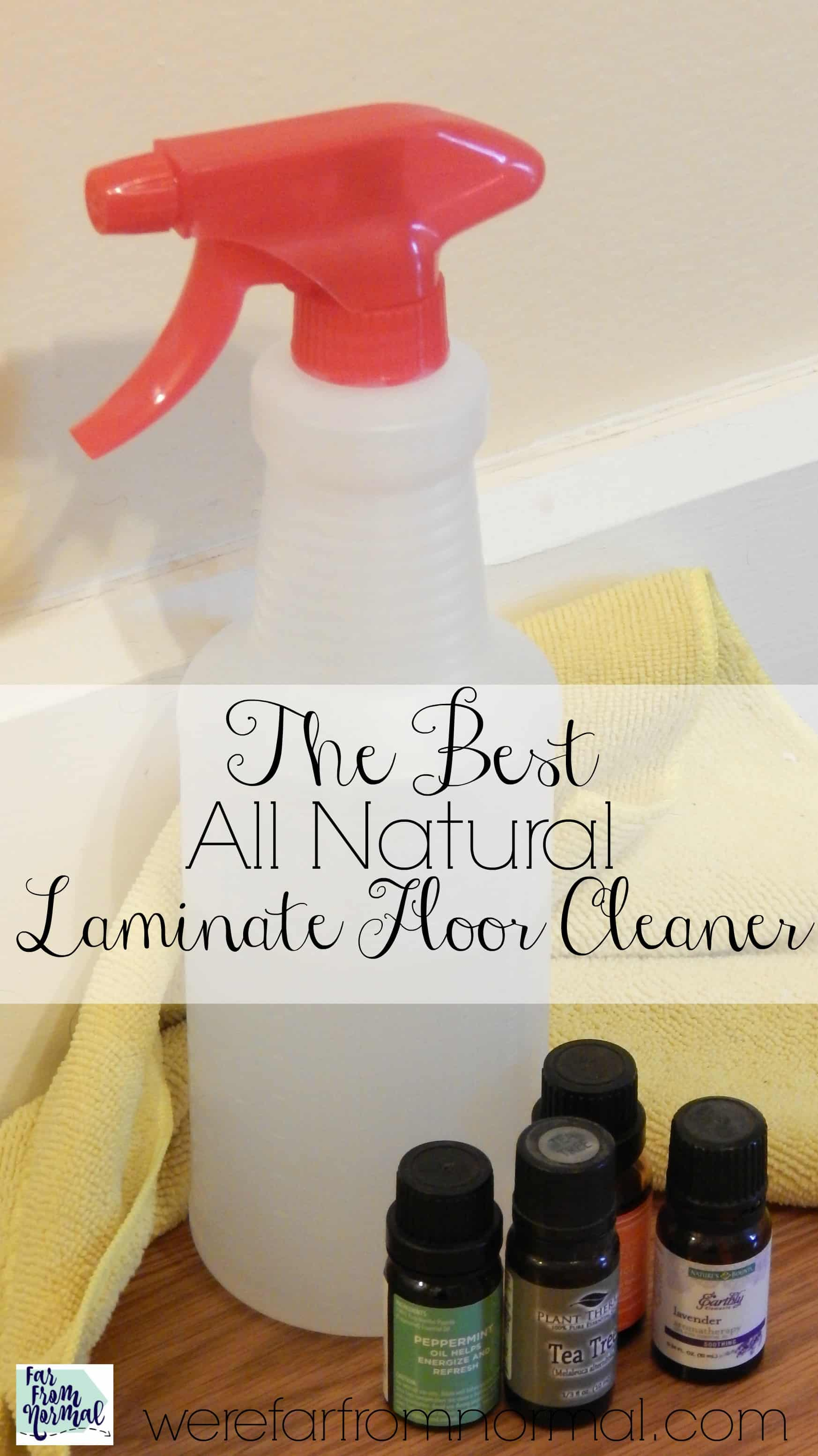 The Best DIY All Natural Laminate Floor Cleaner