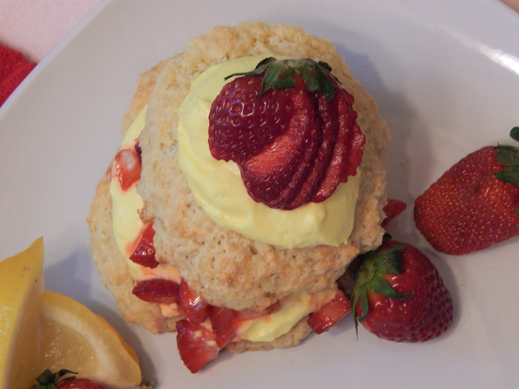 strawberry lemonade shortcake