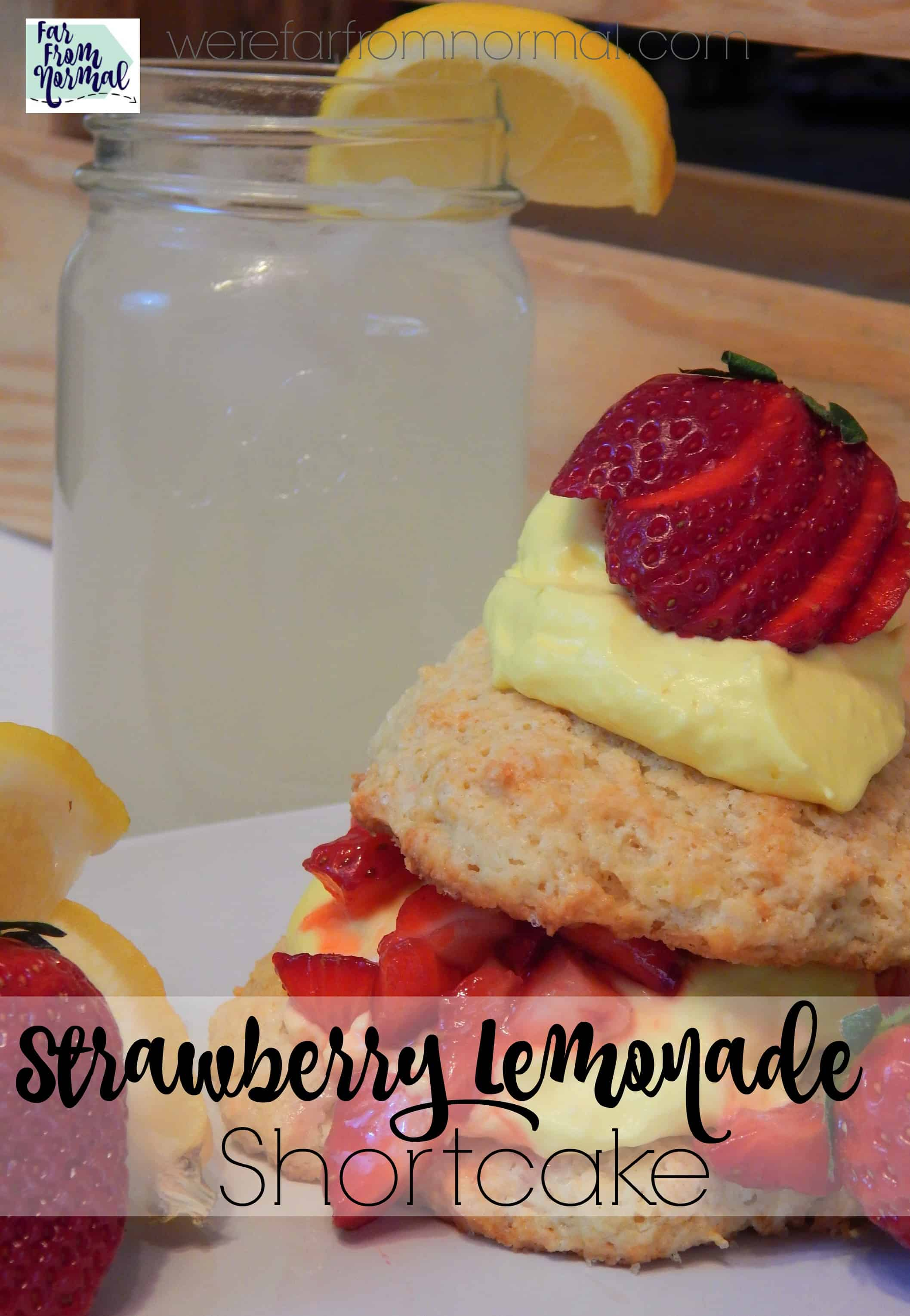 Delicious Strawberry Lemonade Shortcake