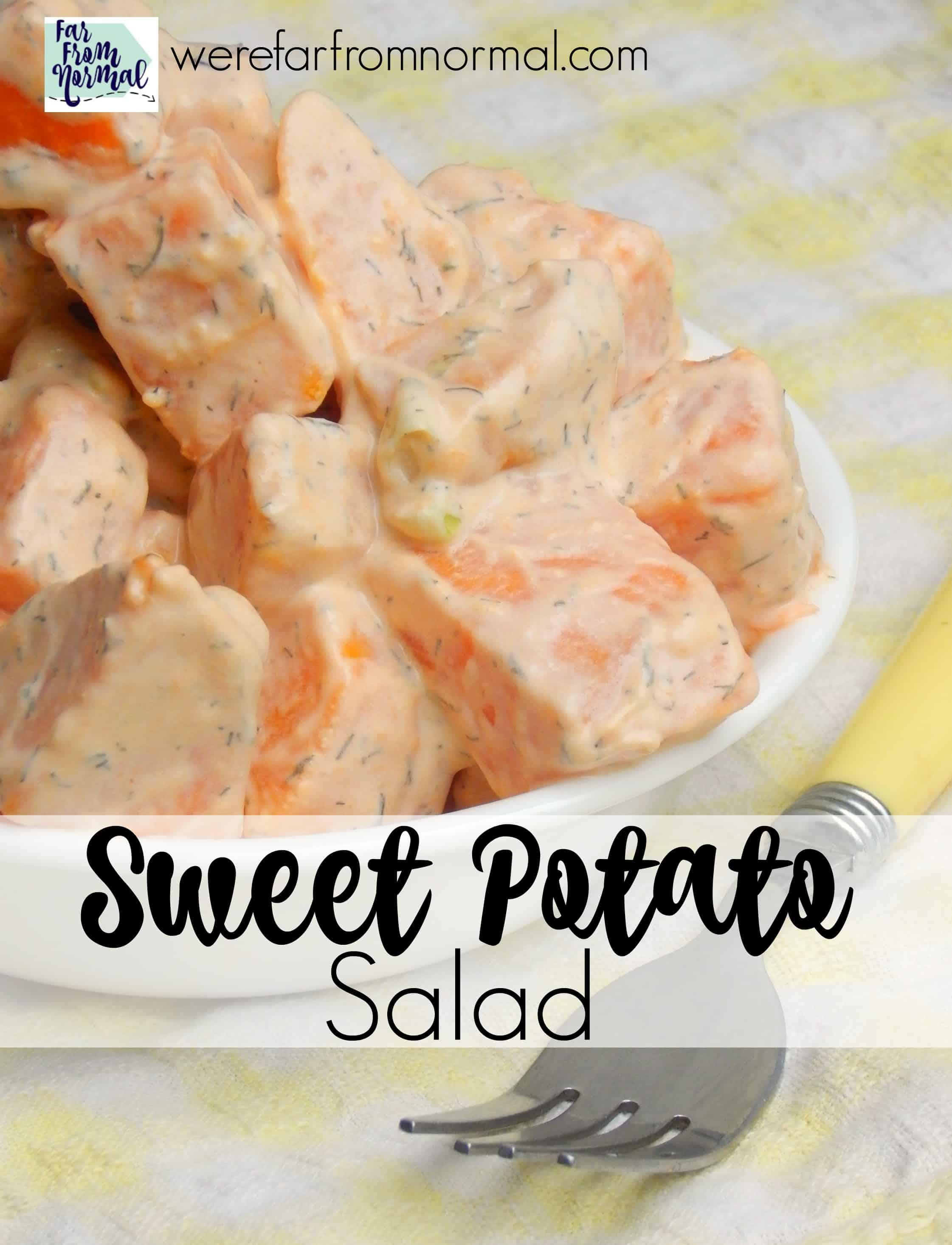 Delicious Sweet Potato Salad