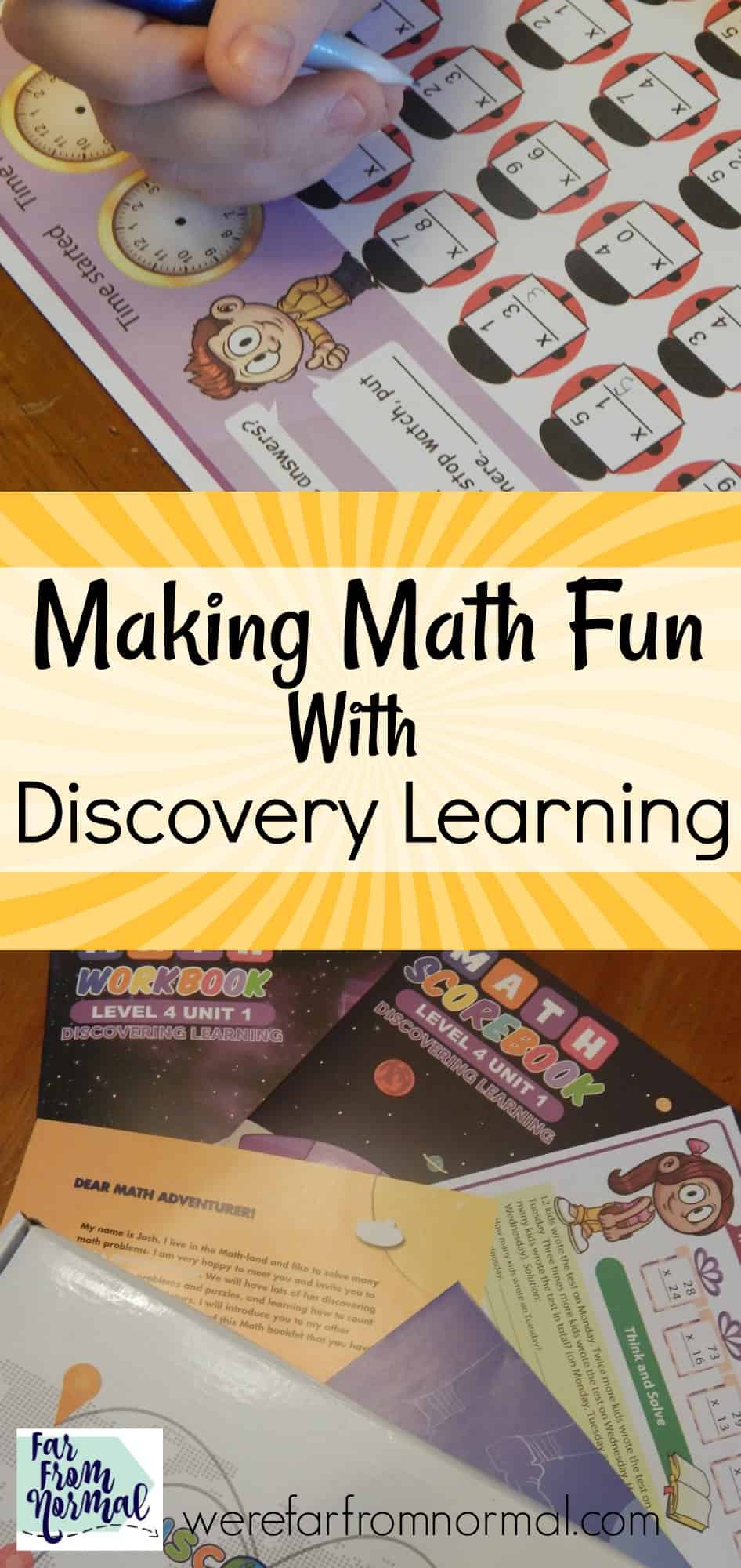 Making Math Fun With Discovery Learning