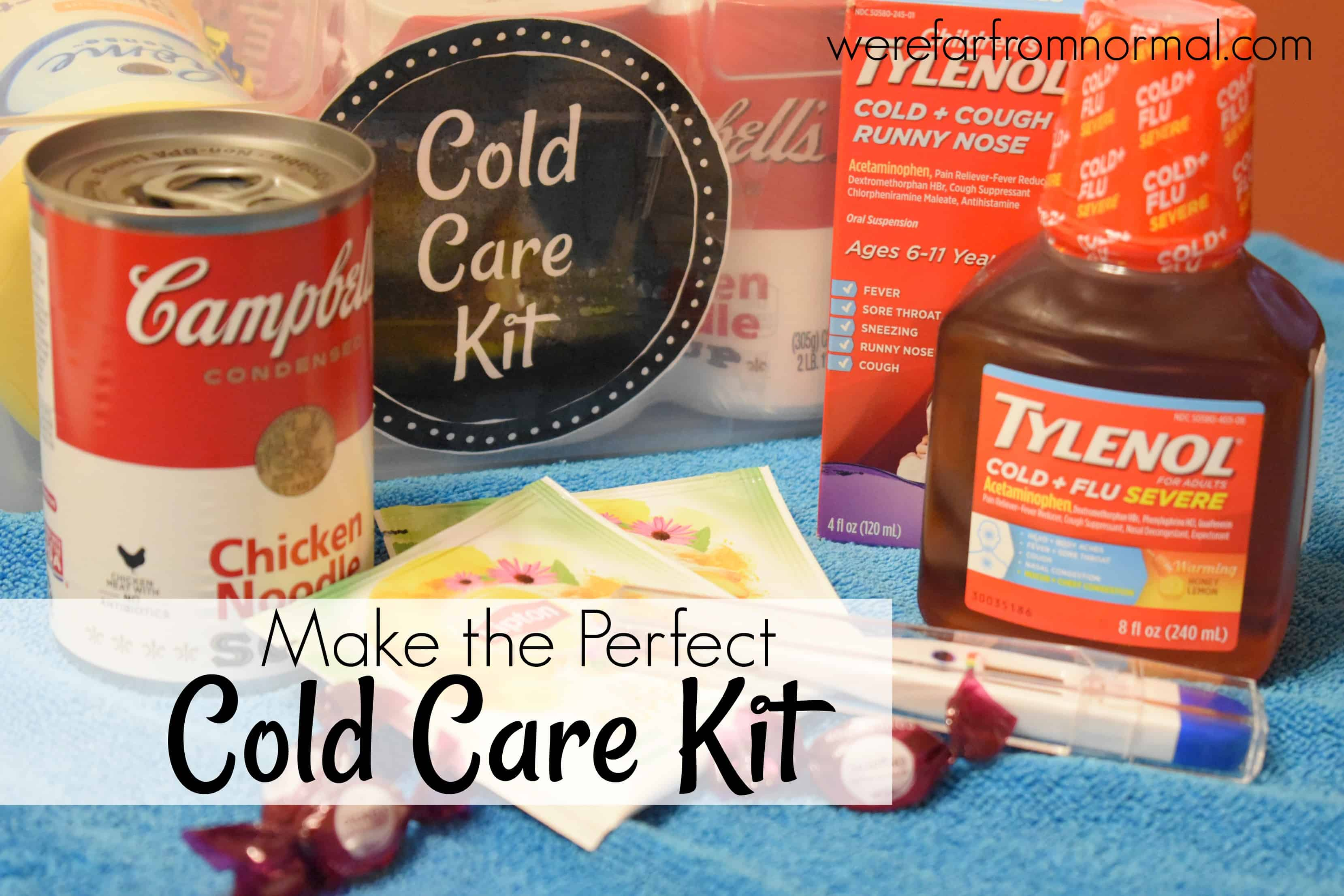 How to Make the Perfect Cold Care Kit