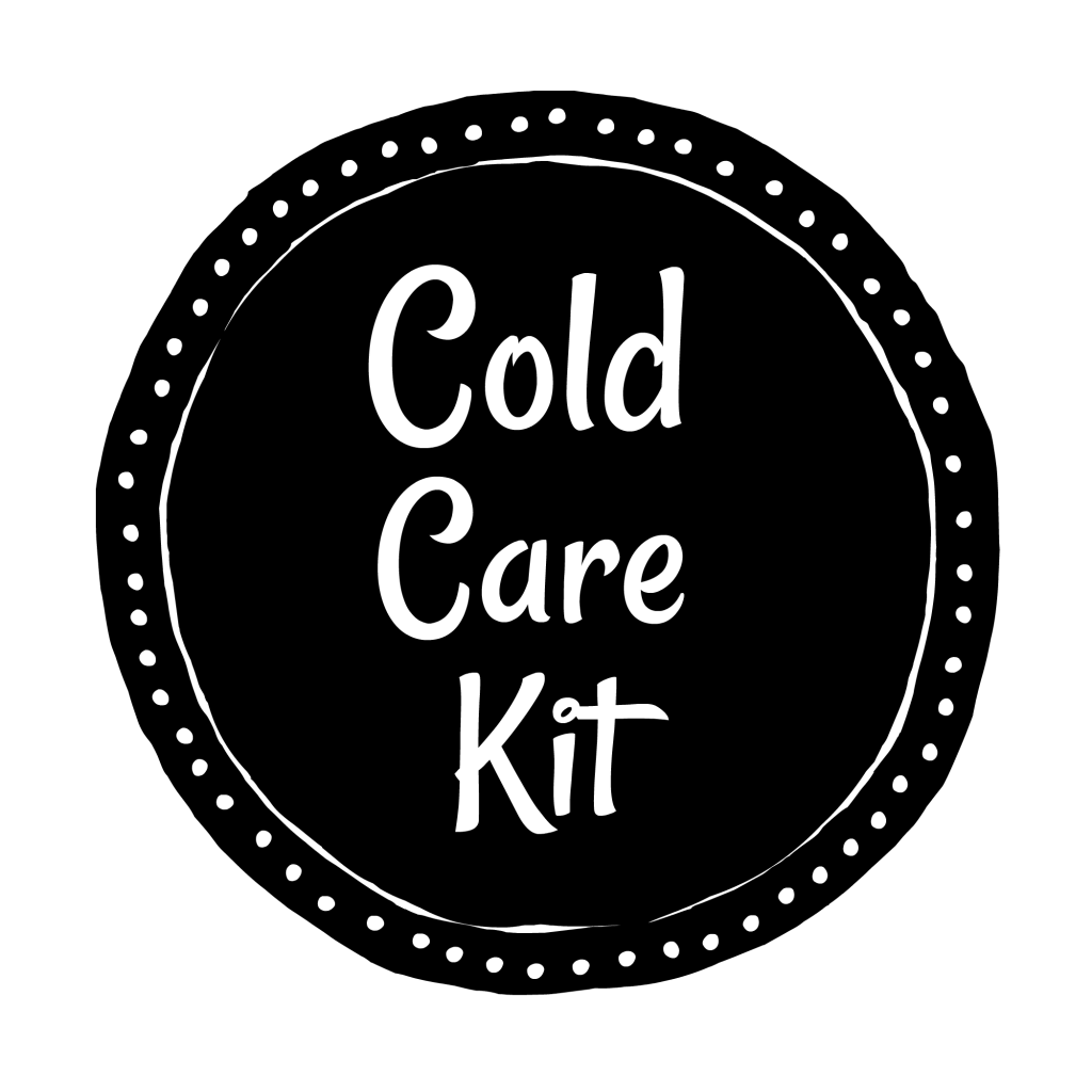 cold care kit printable label