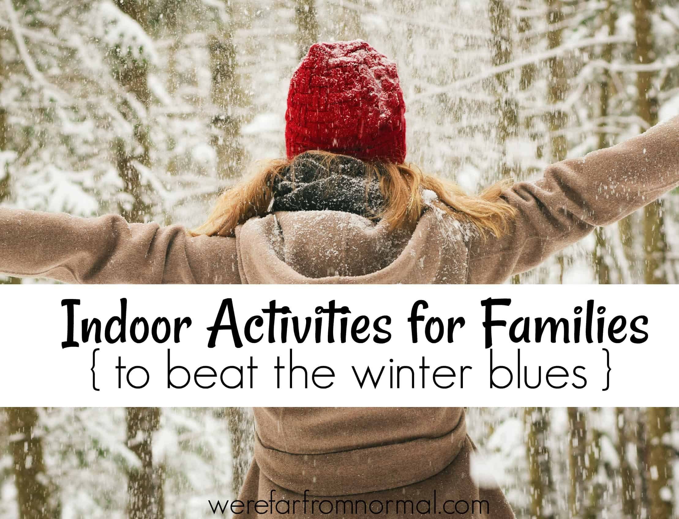 Indoor Activities for Families (to beat the winter blues!)