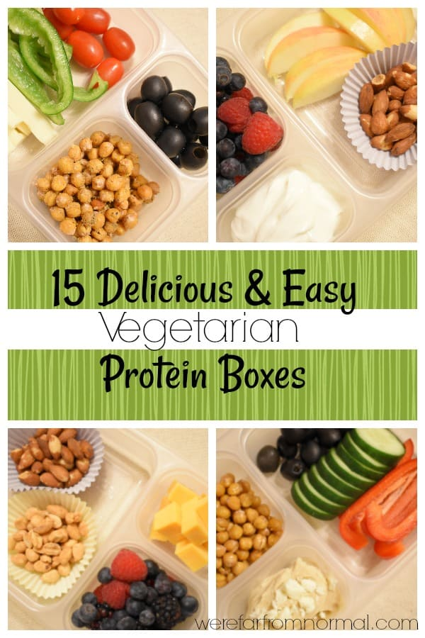 15 Easy & Delicious Vegetarian Protein Boxes