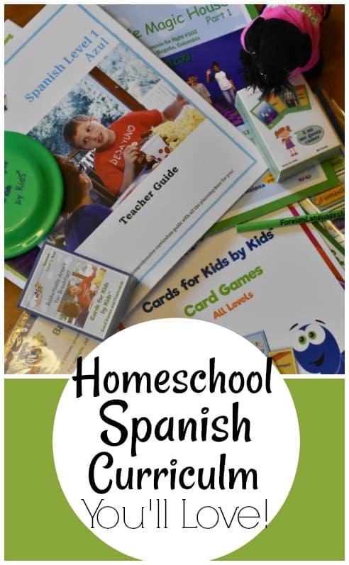 Awesome Homeschool Spanish Curriculum You'll Love!