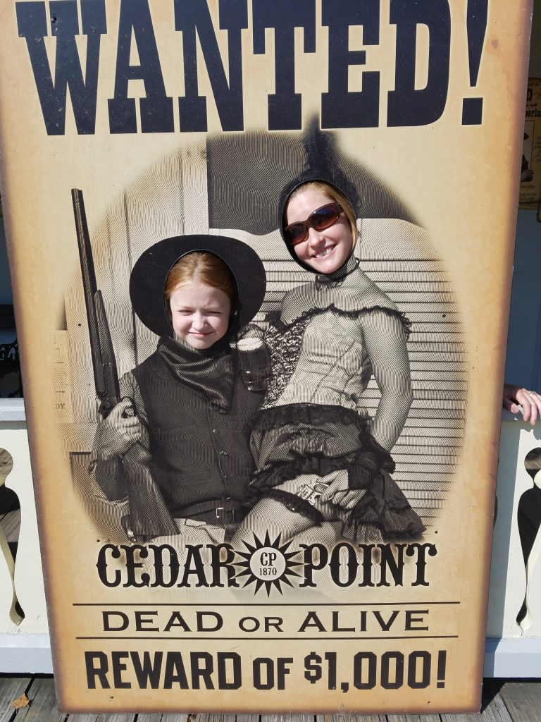 Family vacation to Lake Erie Cedar Point