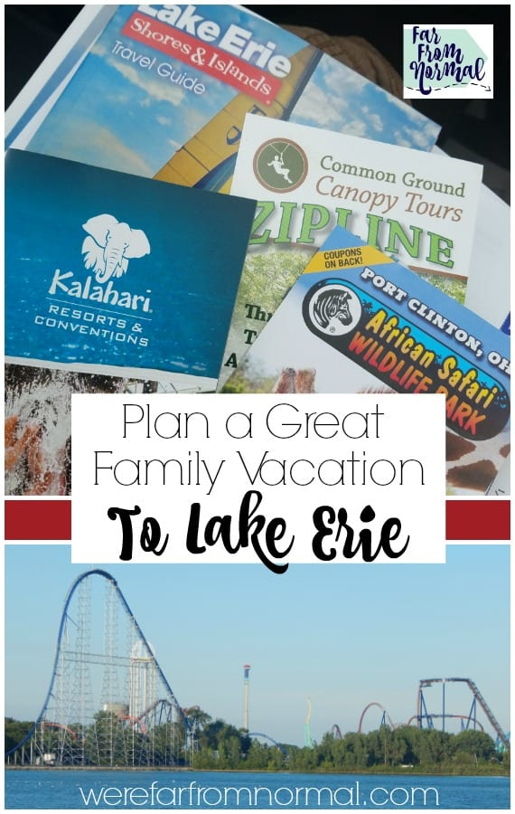 Lake Erie family vacation