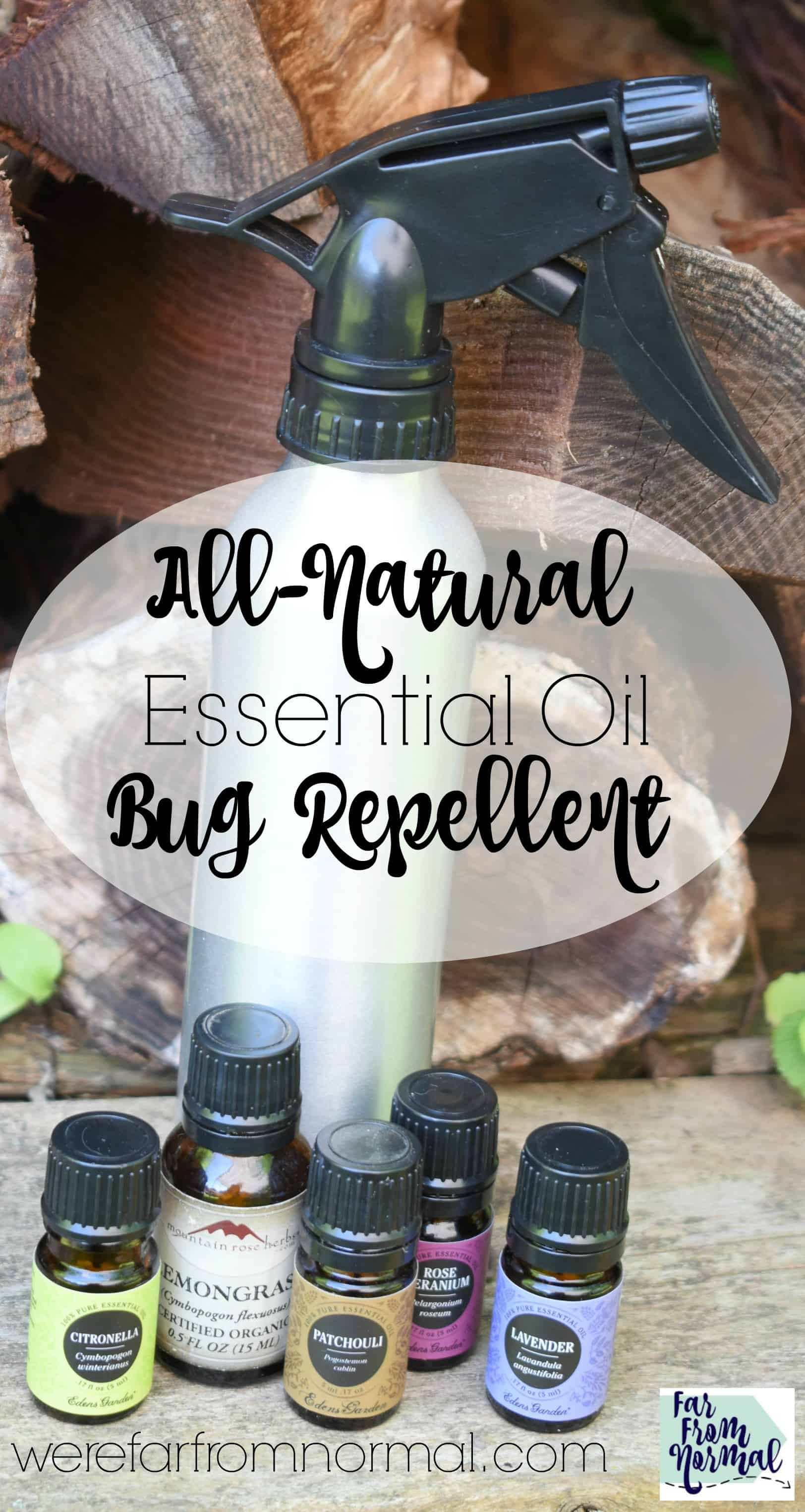 DIY Essential Oil Bug Repellent