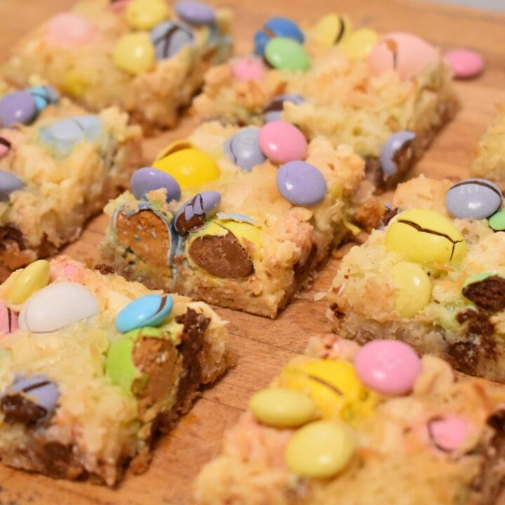 Loaded Easter Candy Magic Bars