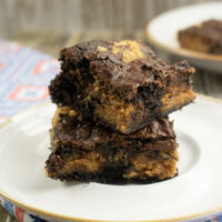 Delicious Peanut Butter Brownies